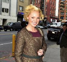 Katherine Heigl steps out in New York City, January 24, 2012 -- FilmMagic