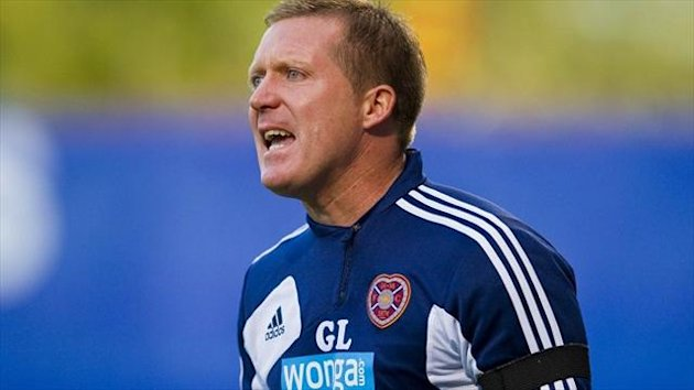 Hearts manager Gary Locke (PA Sport)