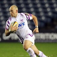 Richard Fussell scored one of Ospreys' three tries in the victory over Munster