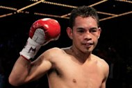 Filipino star Nonito Donaire, pictured in 2011, unbeaten for more than 11 years, will face South Africa&#39;s Jeffrey Mathebula on Saturday in a super bantamweight world championship unification fight