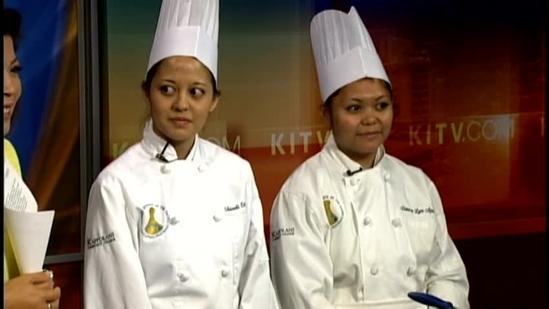 KCC Culinary students share their winning recipe