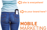 Mobile Is Here – Are You Ready for Mobile Marketing? image Mobile marketing1 300x191