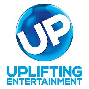 """This logo image released by UP shows the new logo for the Uplifting Entertainment channel, formerly known as the Gospel Music Channel. The Atlanta-based channel's focus on """"uplifting and faith-friendly entertainment"""" will continue with an expansion of its mix of original movies, plays and series and reruns of network programs, said Brad Siegel, its vice chairman. (AP Photo/UP)"""
