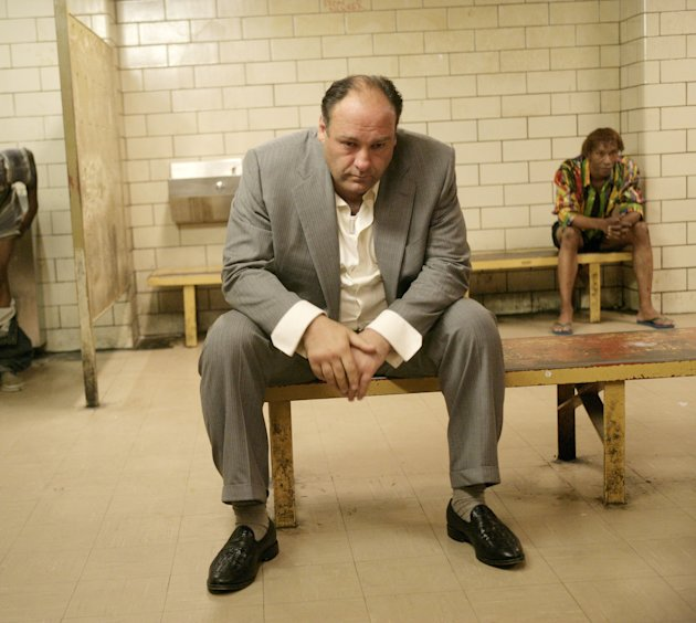 THE SOPRANOS, James Gandolfini, …