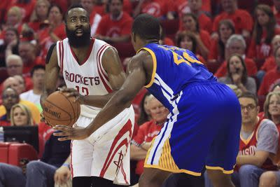Rockets vs. Warriors 2015 Game 4 results: Houston avoids thesweep with 128-115 win