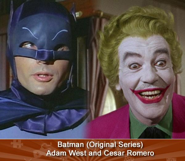 Batman (Original Series) -- Adam West and Cesar Romero