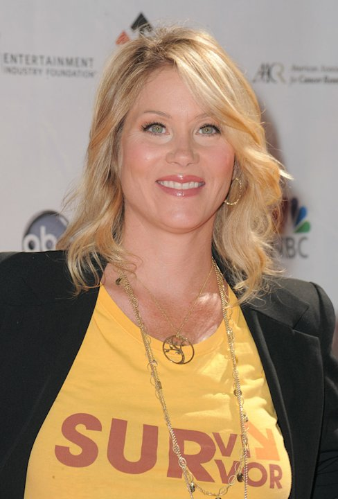 Christina Applegate arrives at Stand Up To Cancer at Sony Pictures Studios on September 10, 2010 in Culver City, California.