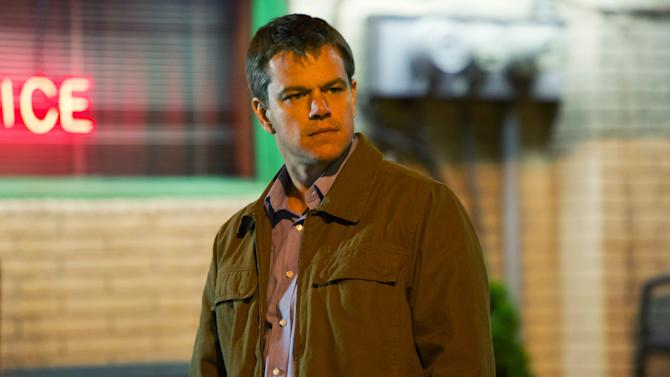 """This undated publicity film image provided by Focus Features shows Matt Damon starring as Steve Butler in Gus Van Sant's contemporary drama, """"Promised Land,"""" a Focus Features release. (AP Photo/Focus Features, Scott Green)"""