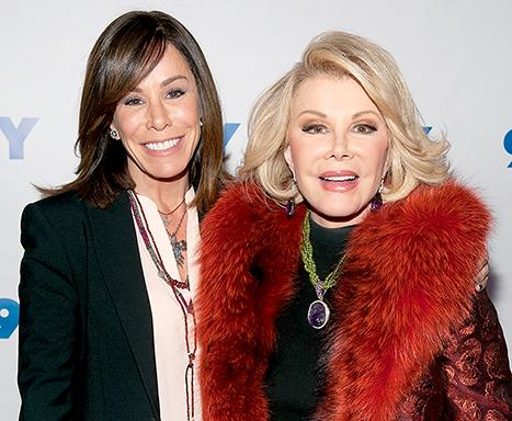 "Melissa Rivers Recalls Seeing Mom Joan in the Hospital Before Her Death: It Was ""Very Surreal"""