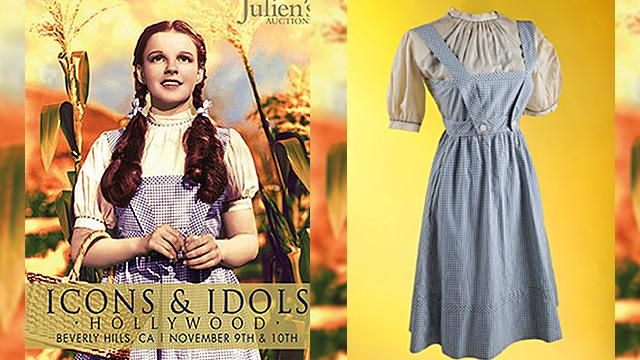 Garland's 'Wizard of Oz' Dress Sells for $480,000
