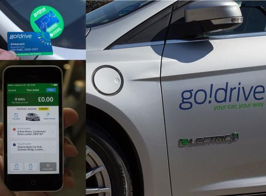 Ford launches GoDrive car-sharing service in London