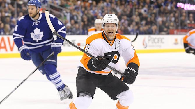 NHL Three Stars: Philly duo downs Leafs; Bob lifts Blue Jackets…