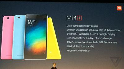 Xiaomi's next smartphone is the Mi 4i for India