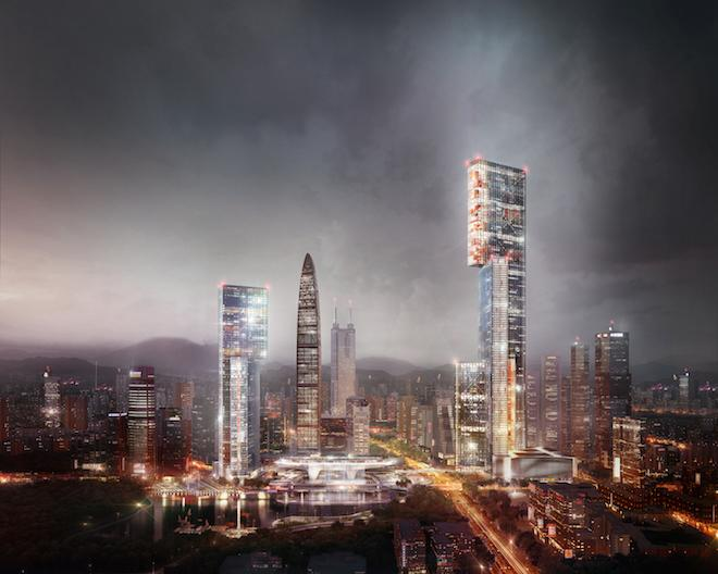A Proposed Skyscraper Rethinks Tower Design