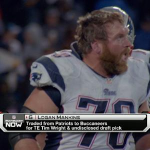 New England Patriots guard Logan Mankins traded to Tampa Bay Buccaneers