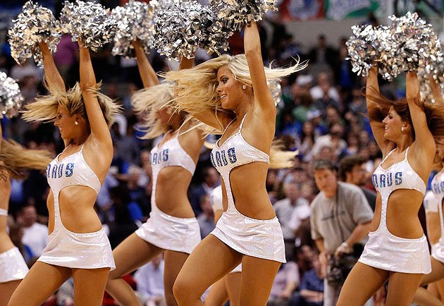 The dallas mavericks dancers new uniforms prove not everything s