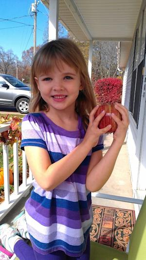 This undated picture provided by the Bentonville, Ark. Police Department shows Jersey Bridgeman. Her father and stepmother are in in prison for chaining her to a dresser in 2011, but authorities are trying to figure out who killed the 6-year-old. Her body was found in a vacant house in Nov. 2012 in Bentonville, a northwest Arkansas city best known as the home of Wal-Mart's headquarters. (AP Photo/Bentonville Police Department)