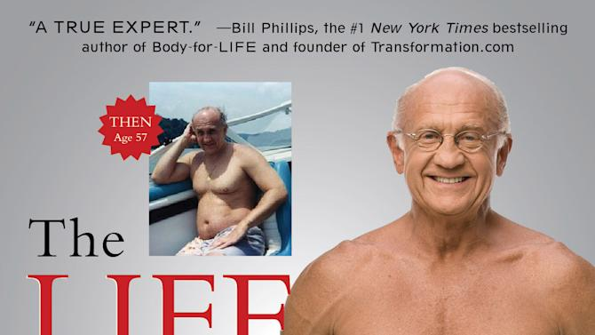 """This image made available by Atria Books shows the cover of Dr. Jeffry Life's 2011 book """"The Life Plan."""" Life used testosterone and human growth hormone in his own bodybuilding regimen. (AP Photo/Atria Books, Terry Goodlad)"""