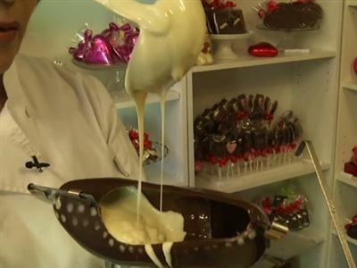Chocolate Passion Takes Shape of Designer Shoe