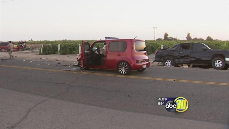 Survivor speaks out after crash kills 3 near Caruthers