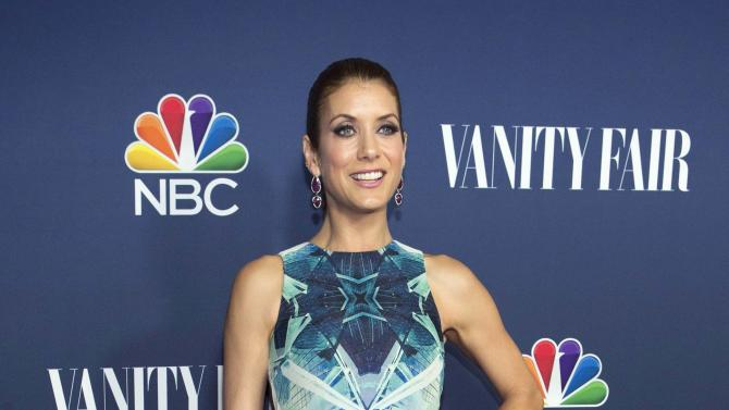 "Actress Walsh from the television series ""Bad Judge"" poses at NBC and Vanity Fair's 2014-2015 television season event in Los Angeles"