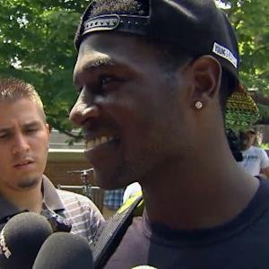 Pittsburgh Steelers wide receiver Antonio Brown on Sanders' comments: 'That was terrible'