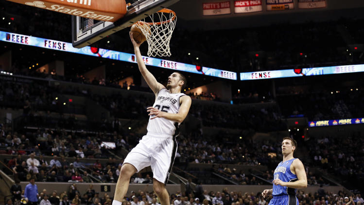 NBA: Orlando Magic at San Antonio Spurs