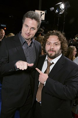 Director Mark Helfrich and Dan Fogler at the Westwood premiere of Lionsgate Films' Good Luck Chuck