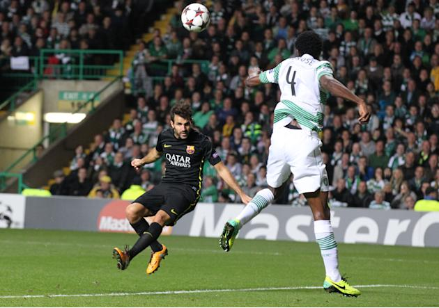 Soccer - UEFA Champions League - Group H - Celtic v Barcelona - Celtic Park