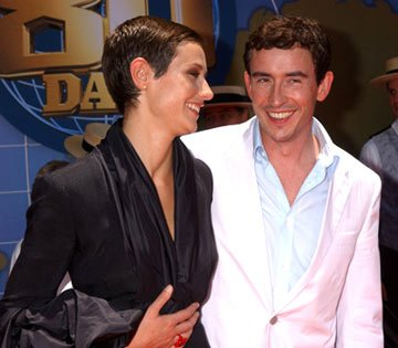 Cecile de France and Steve Coogan at the Hollywood premiere of Walt Disney's Around the World in 80 Days