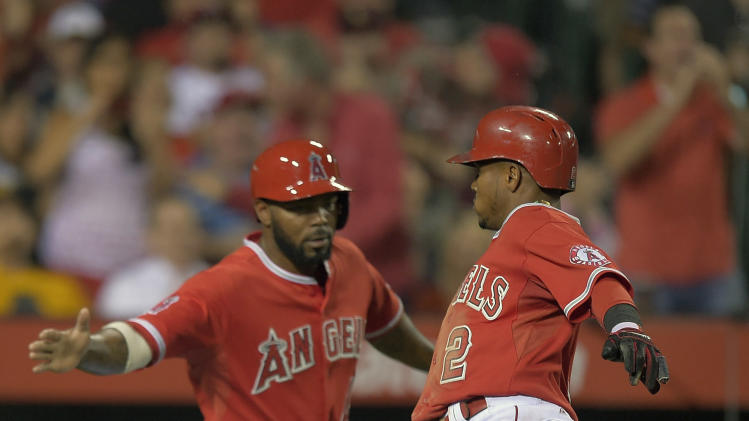 Angels rally in 10th for 4-3 win over Oakland