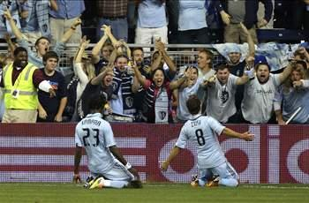 Sporting Kansas City 2-0 Chicago Fire: KC seals playoff berth