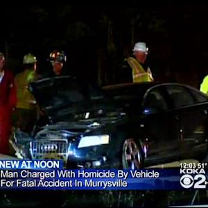 Police File Charges In Fatal Murrysville Accident