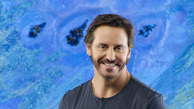 "Charles Mesure stars as Kyle Hobbes in ""V."""
