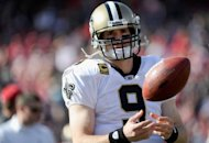 The New Orleans Saints have agreed to a five-year, multi-million contract with veteran quarterback Drew Brees, pictured in January 2012, American media reported on Friday. (AFP Photo/Thearon W. Henderson)
