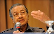 The long-serving former Malaysian premier Mahathir Mohamad (pictured in 2010) says Arab Muslims are incapable of carrying out the 9/11 attacks on the United States that killed nearly 3,000 people