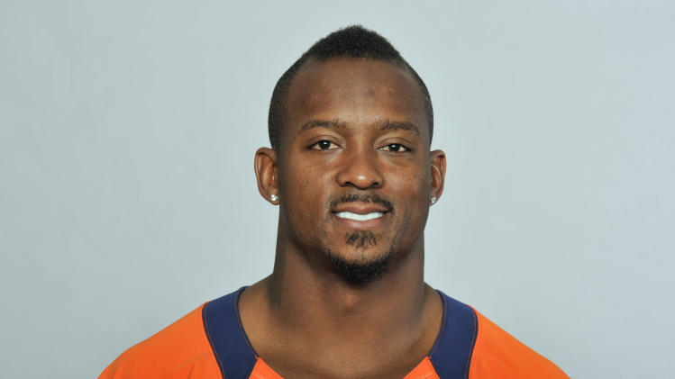 FILE - This is a 2012 file photo showing Willis McGahee of the Denver Broncos NFL football team. The Broncos have released McGahee, Thursday, June 13, 2013, their leading rusher last year.  (AP Photo/File)