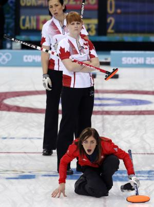 Canada, Sweden advance to women's curling finals