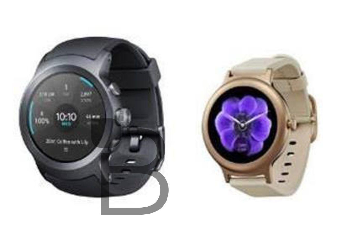 Google's LG-made Android Wear 2.0 watches possibly revealed in low-res photo