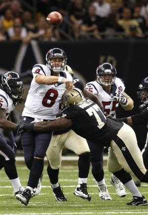 Saints register preseason win over Texans, 34-27