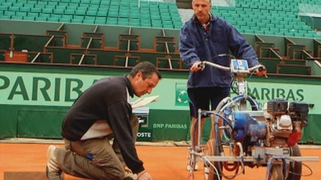 Roland Garros prepares for the French Open