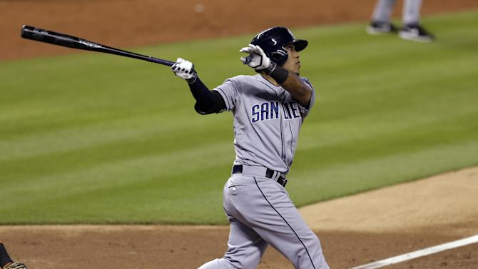 Amarista's pinch-hit HR helps Padres beat Marlins