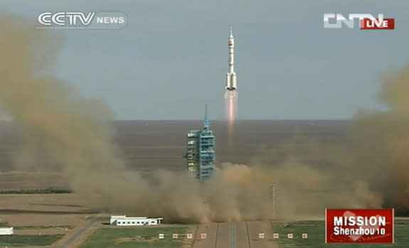 Blast Off! Chinese Astronauts Launch Into Orbit