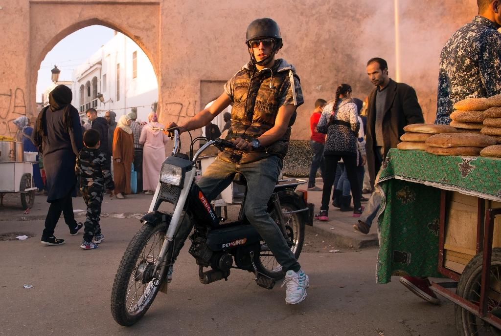 Iconic moped lives on in hearts of Moroccans