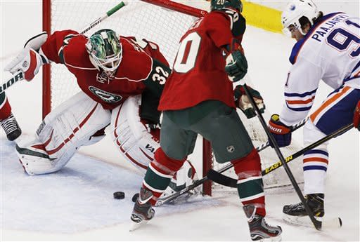 Koivu, Wild break through with 4-2 win over Oilers