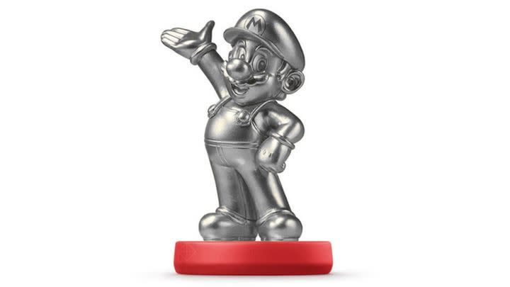 Is a silver Mario amiibo coming in May?