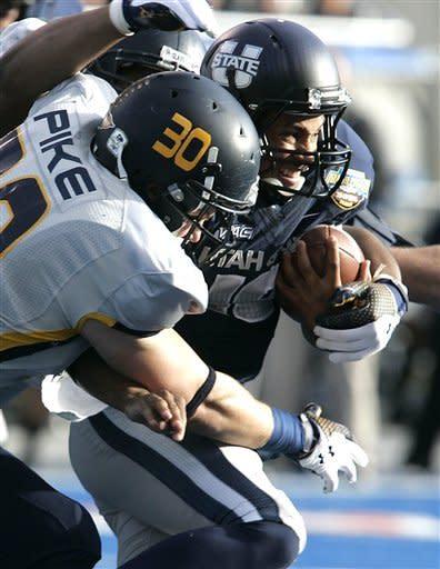 Utah State routs Toledo 41-15 in Idaho Potato Bowl