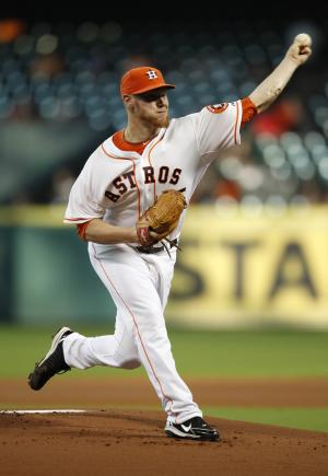 Oberholtzer slips, Astros beaten by Angels 6-2