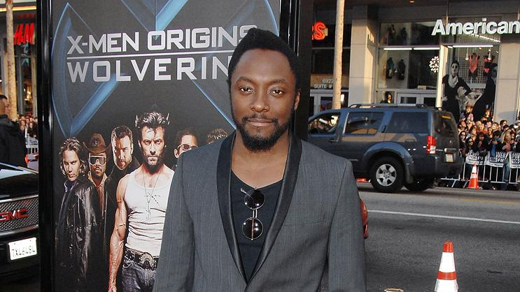 Wolverine LA Premiere 2009 Will.i.am