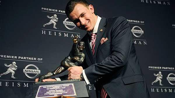 'Johnny Football' is now 'Johnny Heisman'
